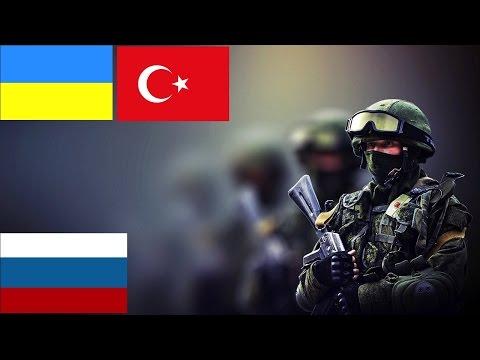 Russia vs Turkey & Ukraine Military Power Comparison HD    Ukraine-Turkey vs Russia 2015-2016