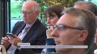Très haut débit : le département des Yvelines connecté en 2022