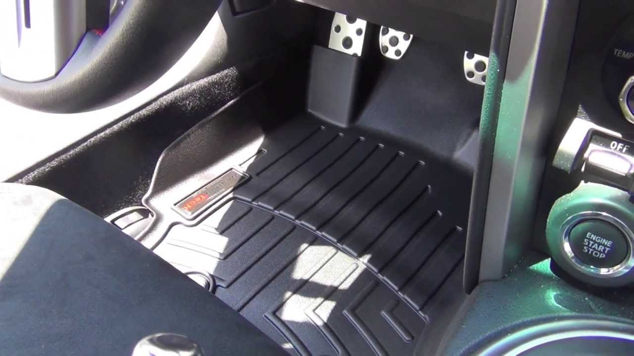 WeatherTech Mat Review  Subaru BRZ  YouTube