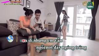 ( Karaoke HD ) Đừng Bắt Em Phải Quên - Miu Lê . Karaoke Beat 2015