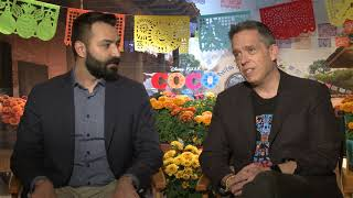 Backstage With COCO Creators Lee Unkrich & Adrian Molina
