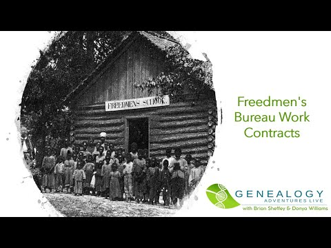 Genealogy Adventures S01 E03: Freedmen's Bureau Work Contracts