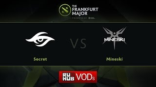 Secret vs Mineski, Fall Major, UB Round 1, Game 2