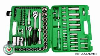 Обзор набора профессионального инструмента Toptul GCAI094R1 на 94 предмета.
