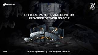 Acer | Official Partner and Monitor Provider of  Worlds 2017