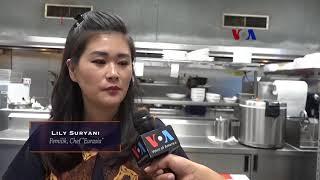 VOA Pop News: Restoran Eurasia, Kampanye 'Water Up' dan CES (1)