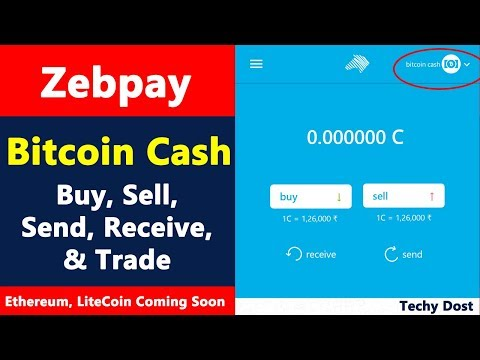 Zebpay - Bitcoin Cash - How to buy, sell, send & trade? - Ethereum & LiteCoin on the way