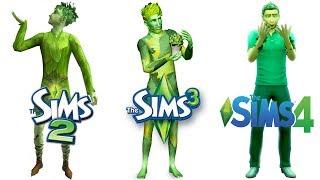 ♦ Sims 2 vs Sims 3 vs Sims 4 : Plant-Sims