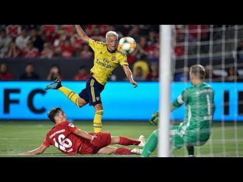 Арсенал бавария обзор матча футбол hd