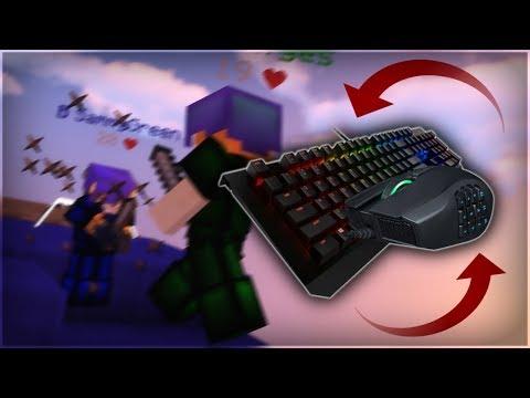 Bedwars Keyboard + Mouse Sounds V2  [HANDCAM]