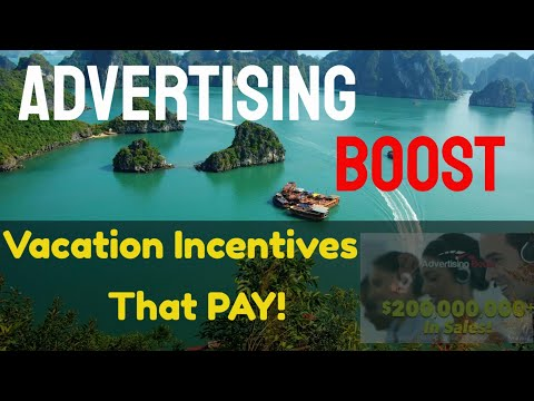 advertising boost vacation incentives review 2019. http://bit.ly/2Hm0OeY