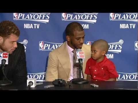 "Chris Paul's Son Makes ""The Blake Face"""