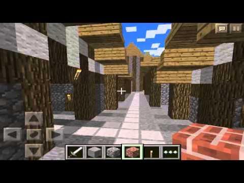 Mapas: Minecraft PE - ¡ASOMBROSA CIUDAD MEDIEVAL!
