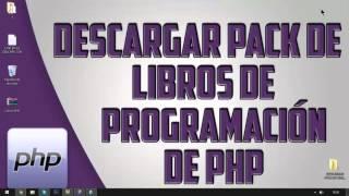 Pack De Libros De Programación De Php Gratis