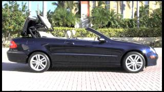 2006 Mercedes-Benz CLK350 Capri Blue Metallic Autos of Palm Beach A2892