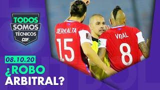 ¿ERA PENAL? Debate sobre por el arbitraje de Chile versus Uruguay - Todos Somos Técnicos