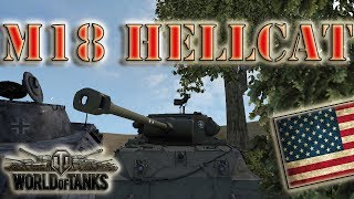 World of Tanks /// M18 Hellcat - High Caliber, Top Gun