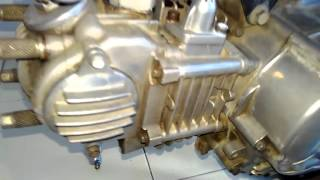 Cara top kan posisi piston dengan memutarkan magnet