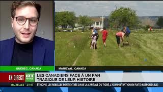 Tombes d'enfants autochtones découvertes au Canada : «C'est une tragédie, un deuil national»