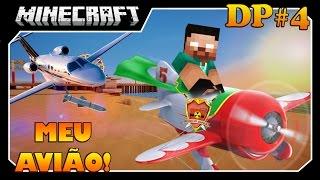 Minecraft Guerra: ORIGENS - DROPS #4 - MEU AVIÃO!!