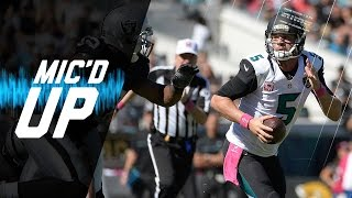 Blake Bortles Mic'd Up vs. Raiders (Week 7) | Sound FX | NFL Films