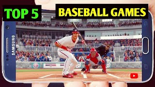 Top 5 Best Baseball Games For Android | Top 5 Game Baseball Offline Di Android |