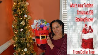 Stocking Stuffers Ideas For A Toddler ~ What We Got Our Toddler For Christmas 2018