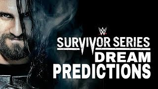 WWE Survivor Series 2017 Dream Predictions | WWE Incredible! Exclusive |