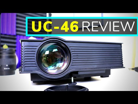 UC-46 Wireless Wifi LED Projector Review