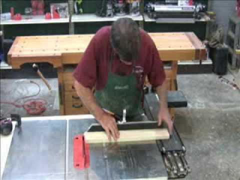 Osborne Table Saw Miter Gauge Presented By Woodcraft Youtube