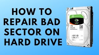 fix Hard Drive with Bad Sector HD tune Pro How To