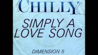 Chilly Simply A Love Song 12 Special Maxi Version