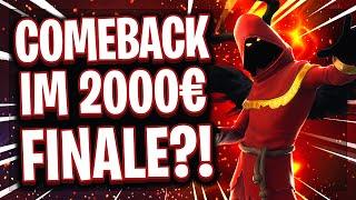 😱🏆💶1.000€ COMEBACK IM FINALE?! | So ein Duell gab es noch nie in Fortnite!