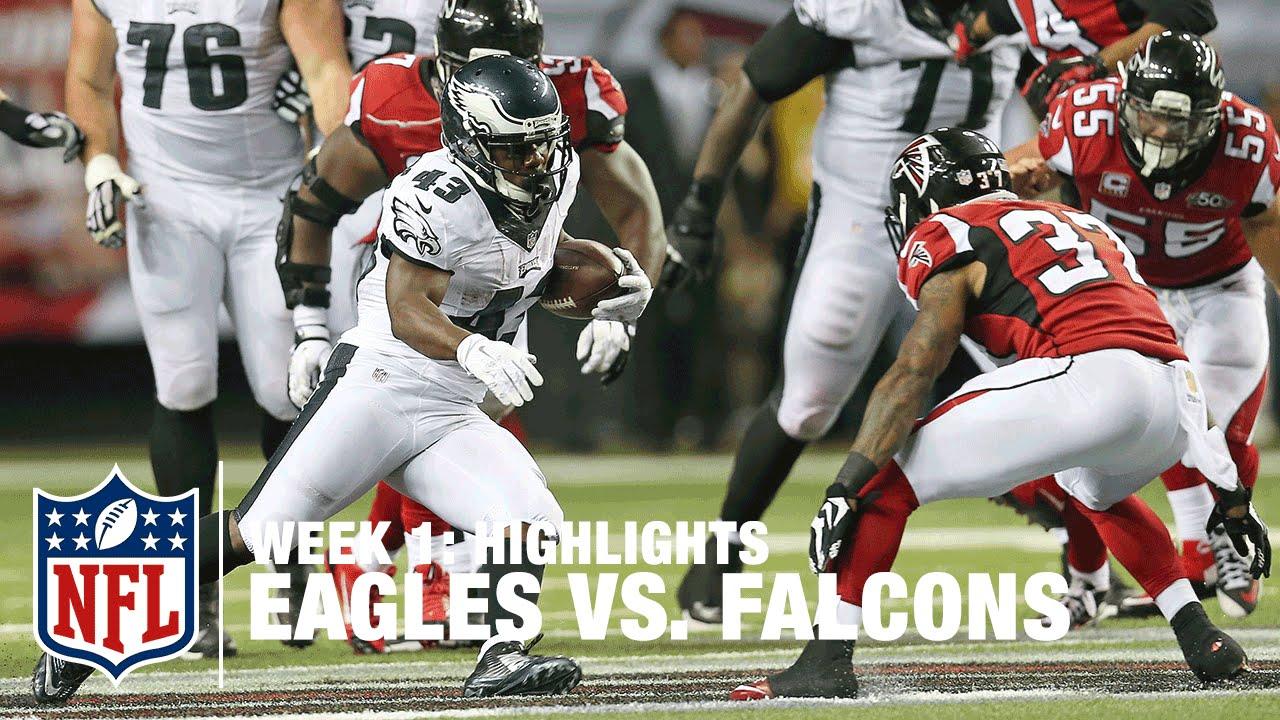 Eagles vs. Falcons Highlights  55cec72b2