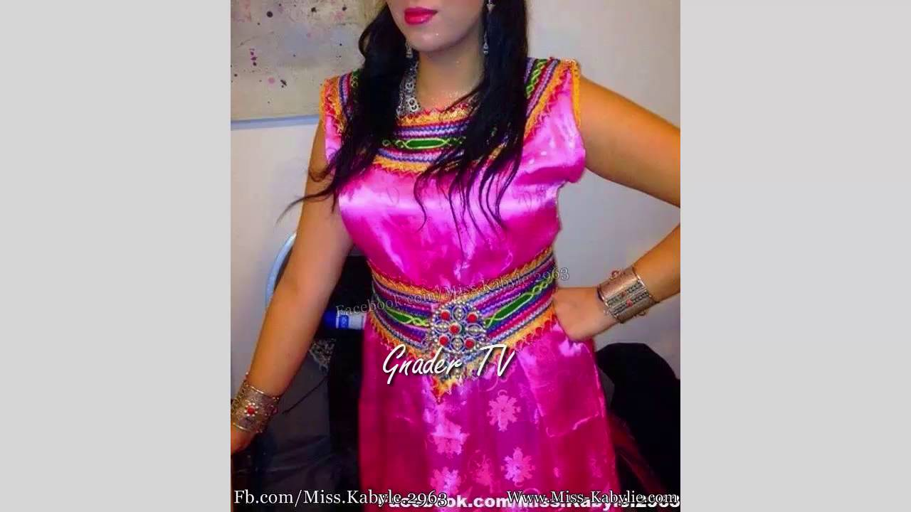 Robe kabyle moderne ouarda helli 2018