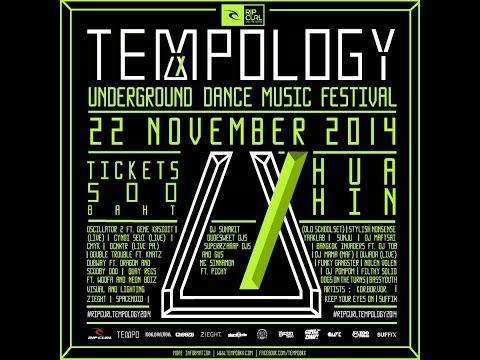 FilthySolid Bkk NeonBoiz&ZatKid Live in TEMPOLOGY 2014 Underground Music Festival Part2