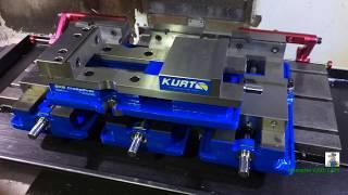 Обзор новых тисков KURT DX6 Cross Over Vise!