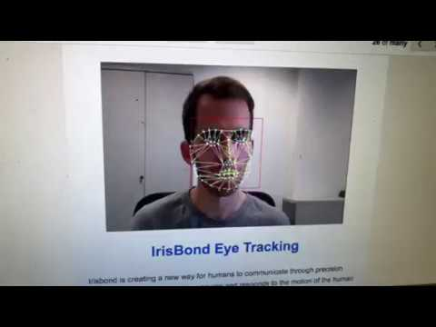 IrisBond Eye Tracking Allows You To Send A Tweet With Your Eyes At CES 2018 Las Vegas