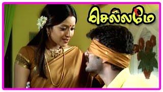 Chellame Movie Scenes , Bharath Comes To Goa , Vishal Asked To Go To Mumbai , Reema Sen