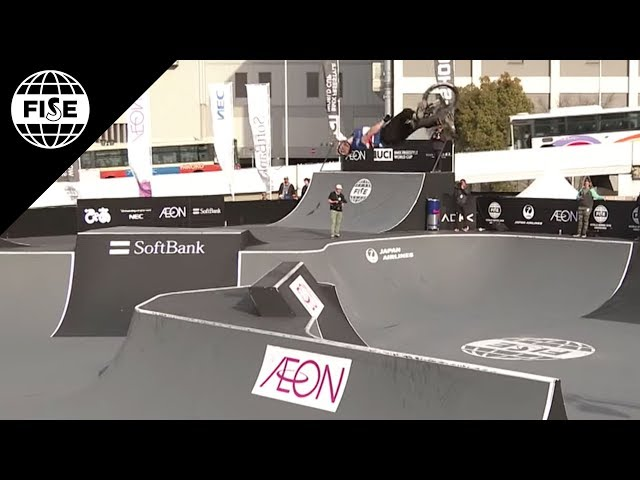 Kenneth Tencio | 2nd Final UCI BMX Freestyle Park World Cup - FISE Hiroshima 2018