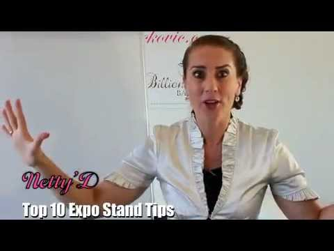 Top 10 Expo Stand Tips [Sales]