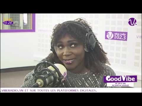Ndiole Tall: pleure en direct dans le Good Vibe avec Aba no stress