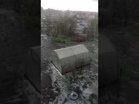 Под Орлом, в Сосково, устраняют последствия стихийного бедствия