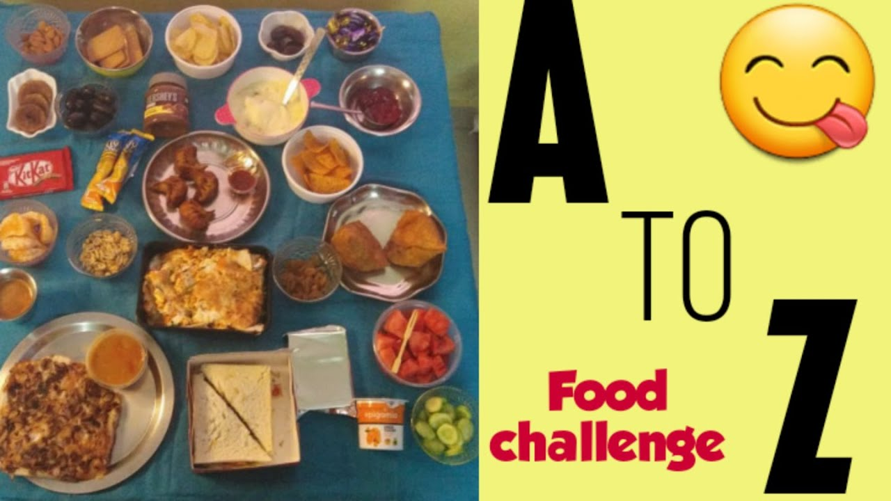 Incroyable  Mot-Clé A To Z Alphabetic Food Eating Competition In Tamil order For 32 ...