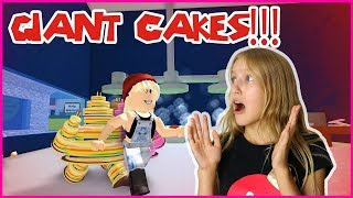 Getting Eaten by Giant Cake Monsters!