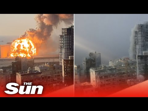 HD footage shows new angle of blast that rocked Beirut, Lebanon
