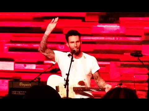 Adam Levine Performs Ignition Remix Cover Live