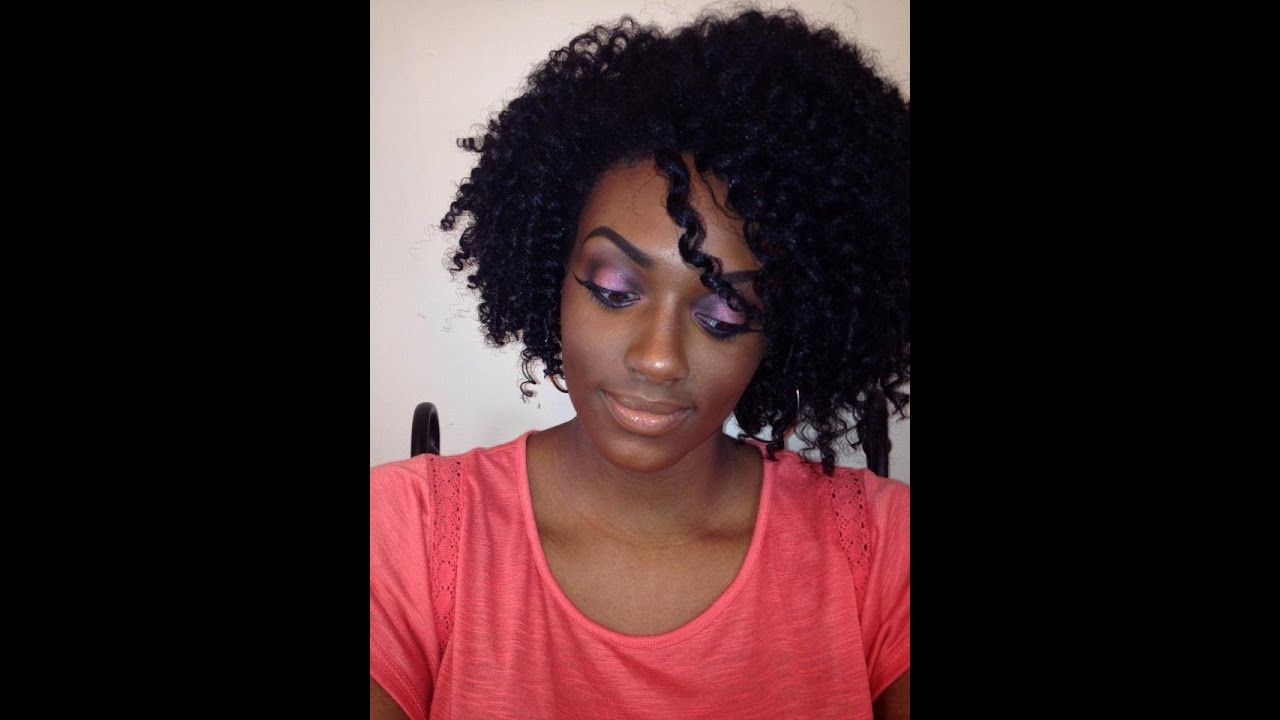 Two Strand Twist Out On Natural Hair