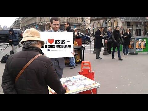 Parler Du Message De L'islam Dans Les Rues De Paris. Street Dawah Paris