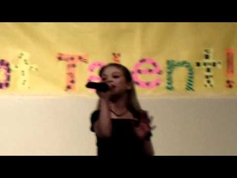 """Hailey Herrington Singing """"You Should've Said No"""" by Taylor Swift"""